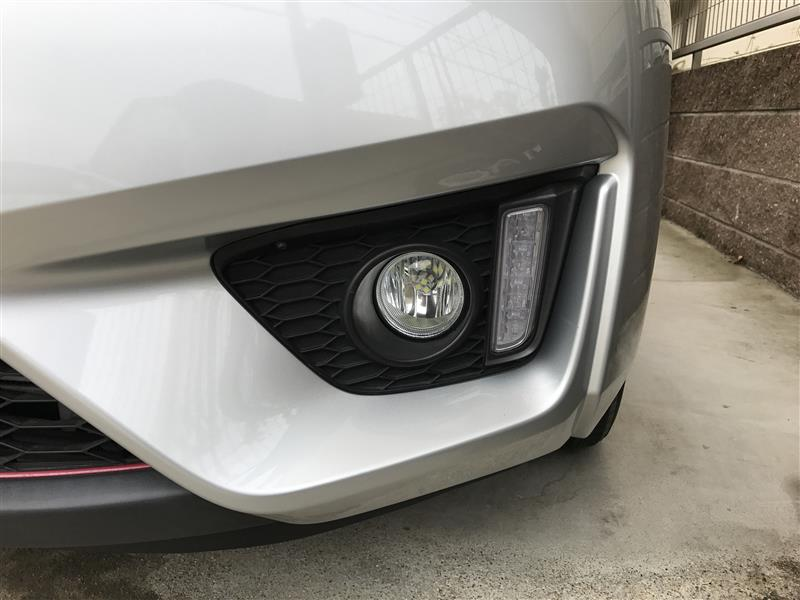 フォグライト LEDの交換
