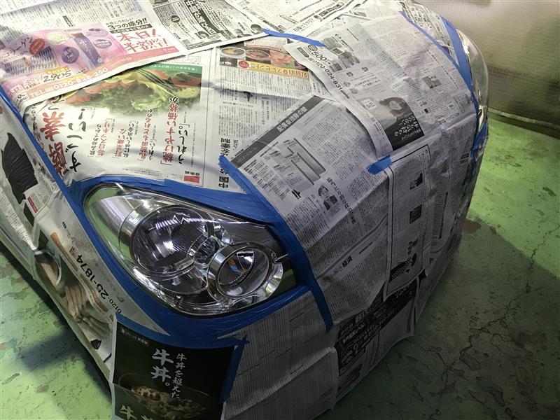 ヘッドライトユニット ウレタンクリア塗装51,170km