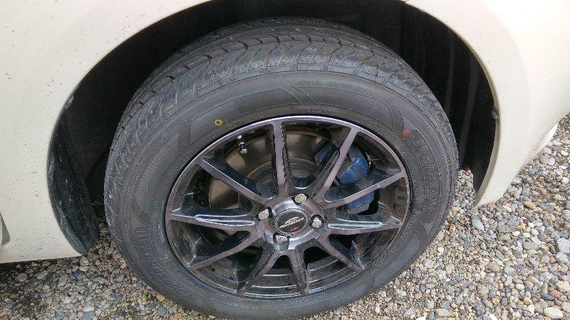 タイヤ交換 国産から海外へ(笑)