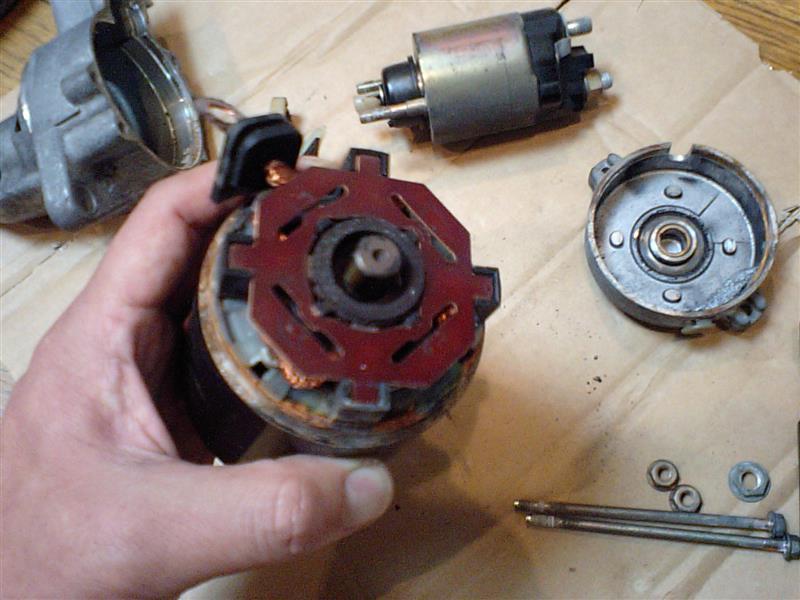 スターターモーターの修理その2