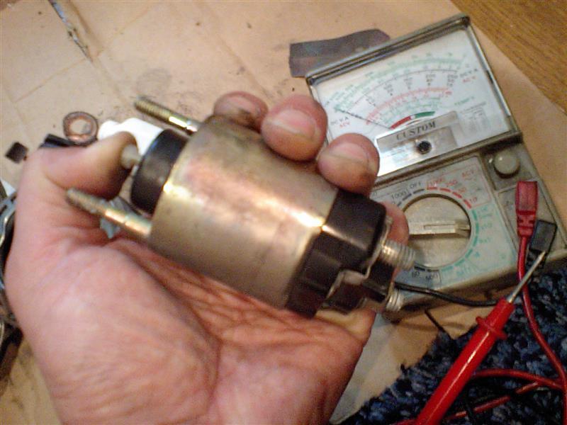 スターターモーターの修理その3