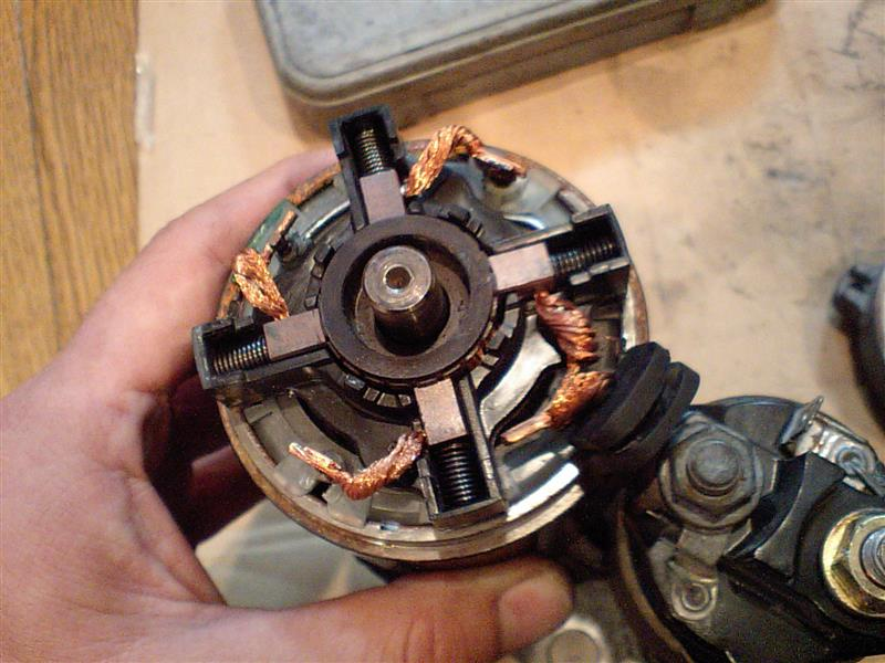 スターターモーターの修理その4