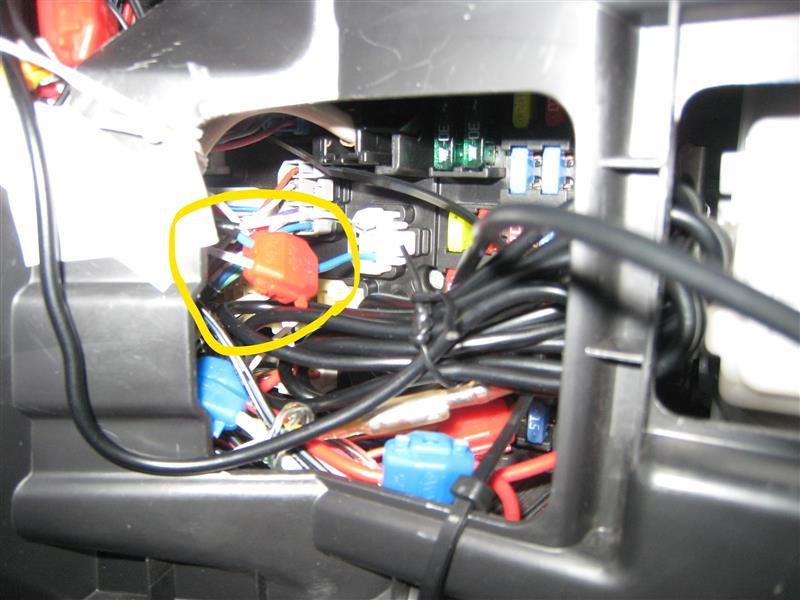 リバース連動ドアミラー下降装置取り付け