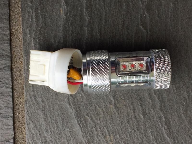 LEDウインカーバルブ交換