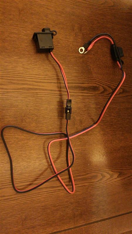 バッテリー充電ポート制作