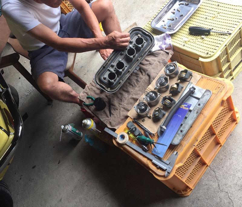 S800 エンジンオーバーホール ⑧