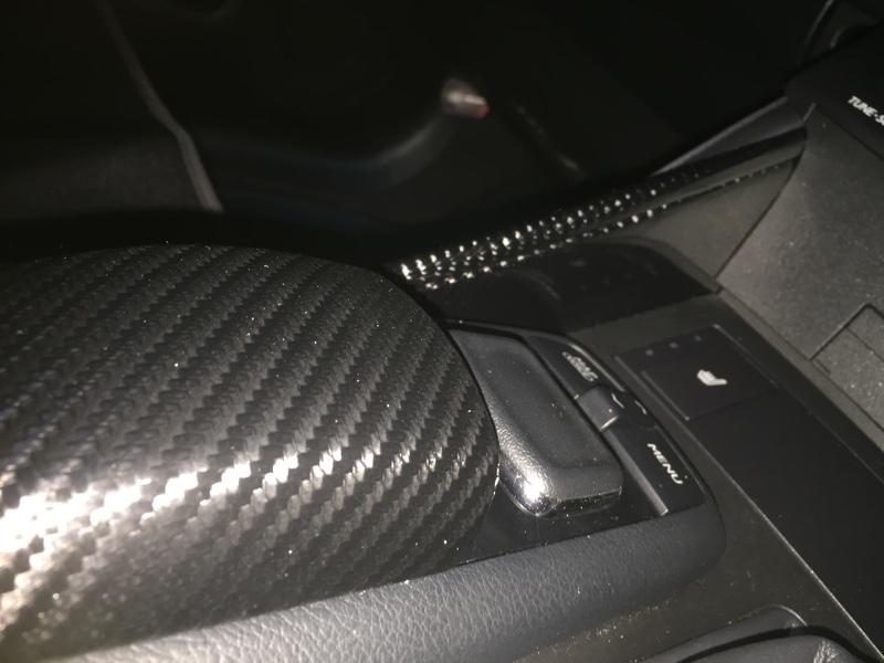 5Dカーボンシート貼りました(・_・;