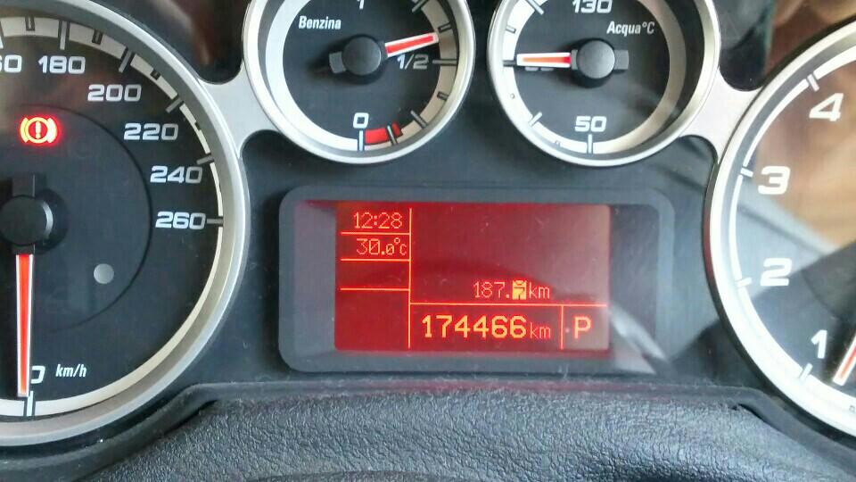 タイヤ交換およびローテーション 174466kmにて