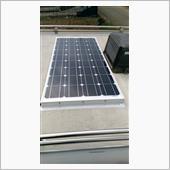 ソーラー発電開始