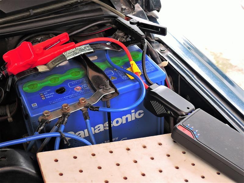メモリーバックUP を付けてバッテリー交換