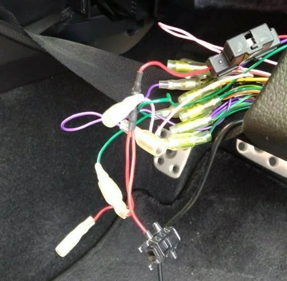ミラー型ドライブレコーダー取付奮闘記(笑)