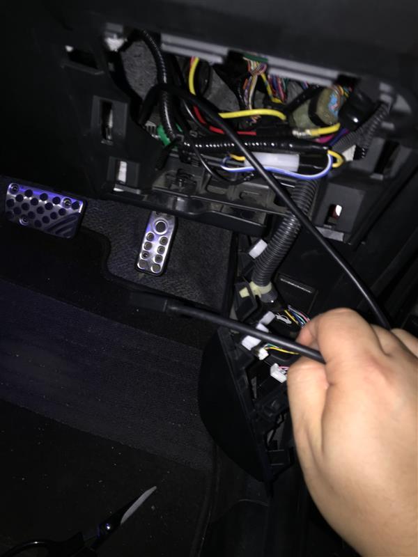 ポケットチャージャー充電ホルダー取り付け。