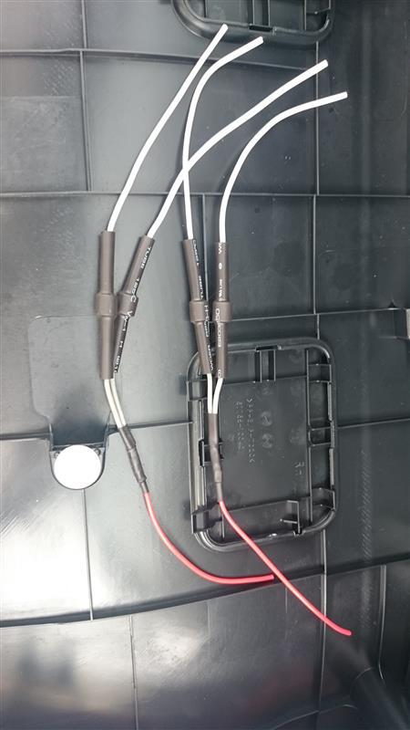 テールブレーキ全点灯化(DIY)