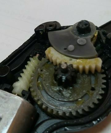 ドアロックモーター修理