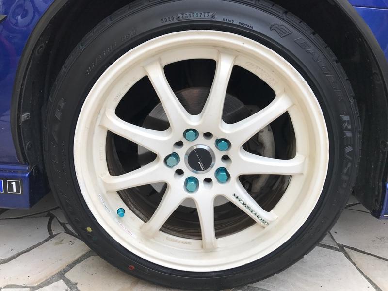 タイヤ交換完了しました!