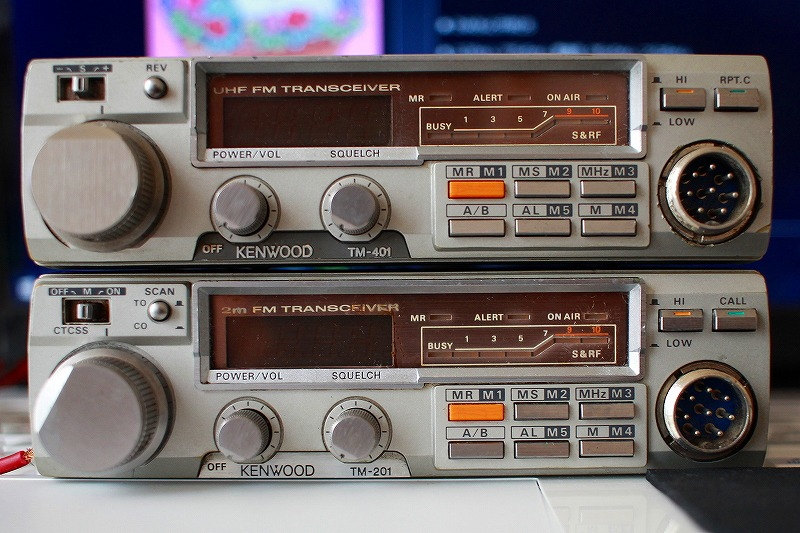 KENWOOD TM-201 & TM-401 点検&調整&修理完了~受け取り