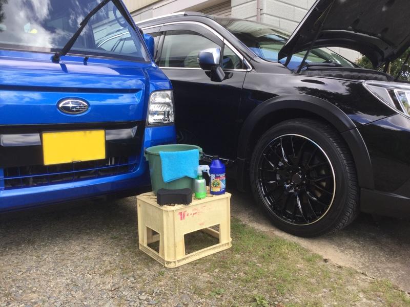 洗車(^^;;