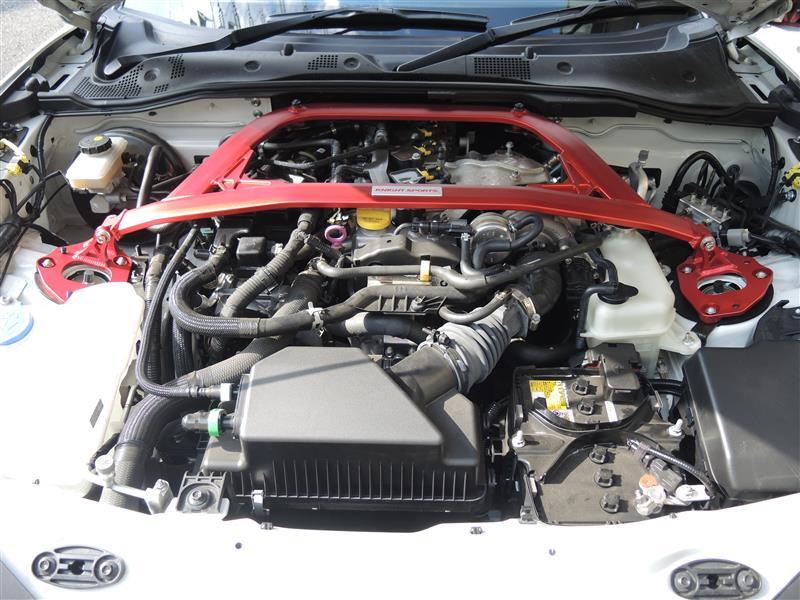 アバルト124スパイダーのエアクリーナーをカーボンエアインテークシステムに交換しました!