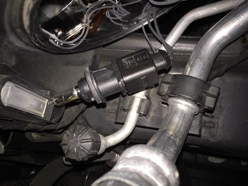 フロントウィンカー LED化
