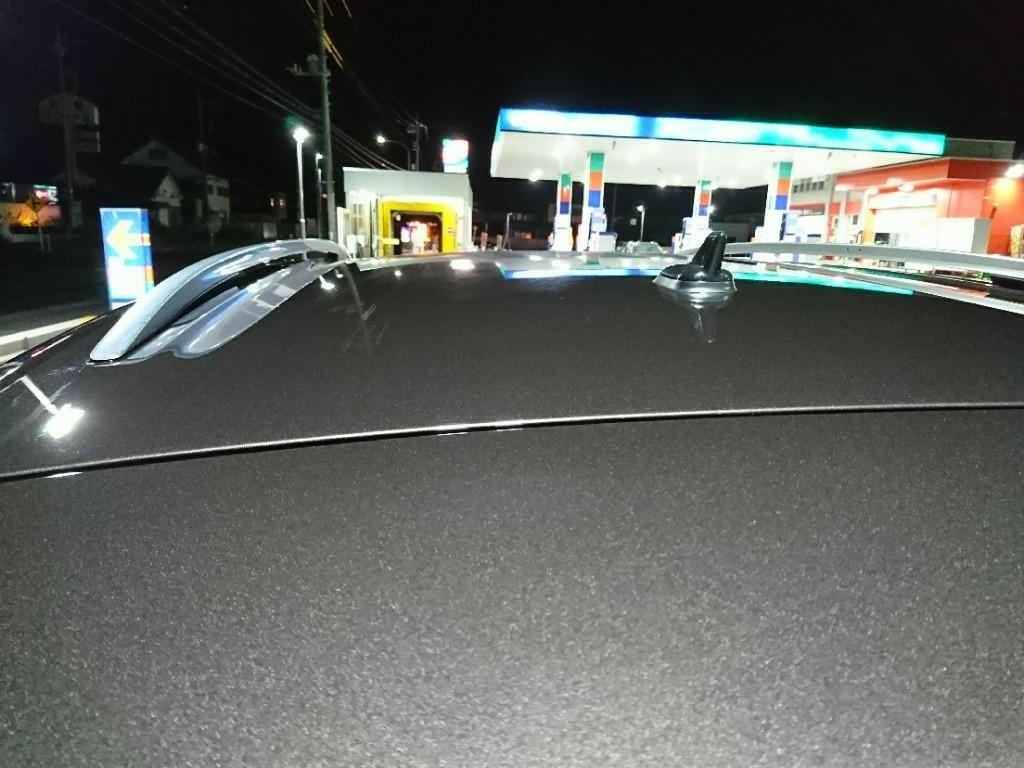 夜中の洗車♪