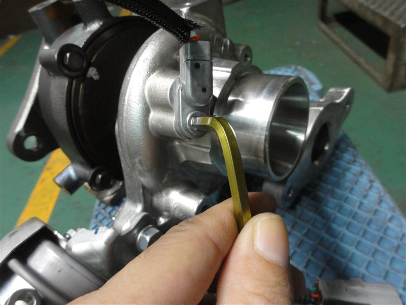 CX-3 ターボチャージャー 分解構造確認④