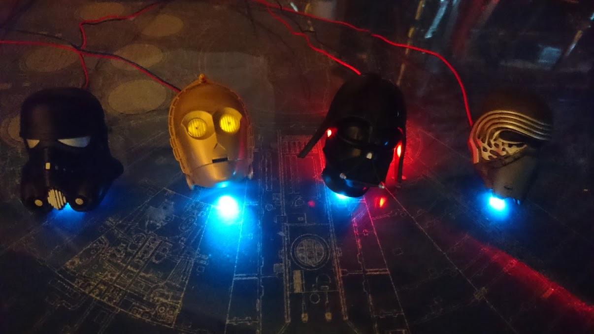スターウォーズ♪ドアインナーハンドル間接照明製作 PART2
