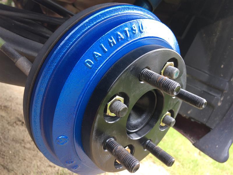 ブレーキローター&ドラムカバー塗装