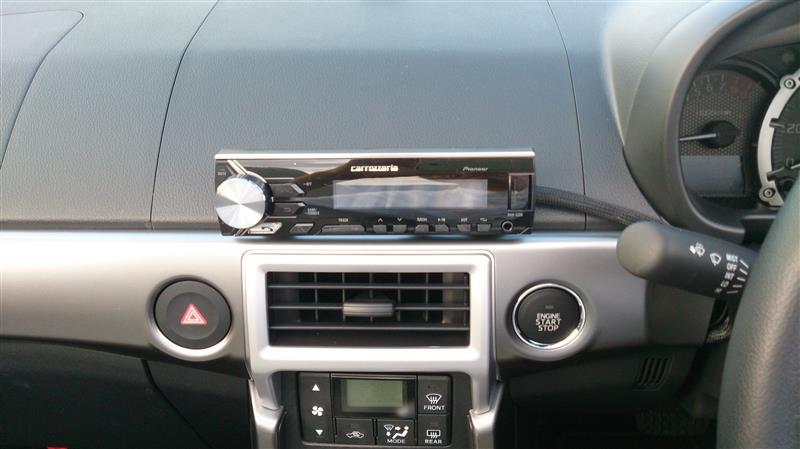 オーディオ取り付け(carrozzeria MVH-5300)
