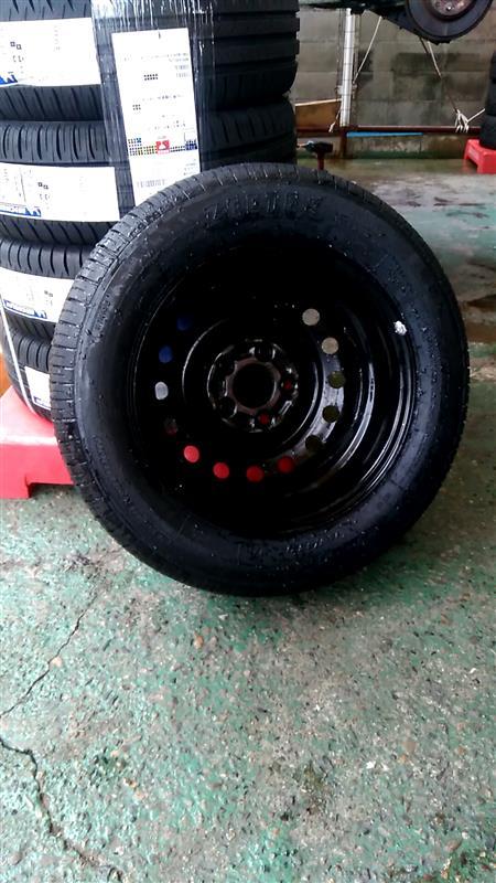 タイヤ交換(shop作業)、足まわり清掃作業(DIY)104.600km