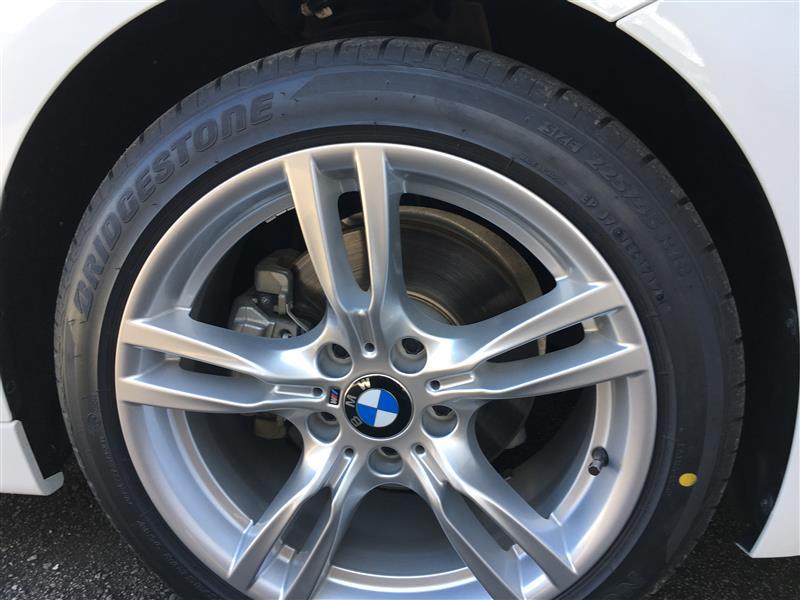 タイヤを更新しました