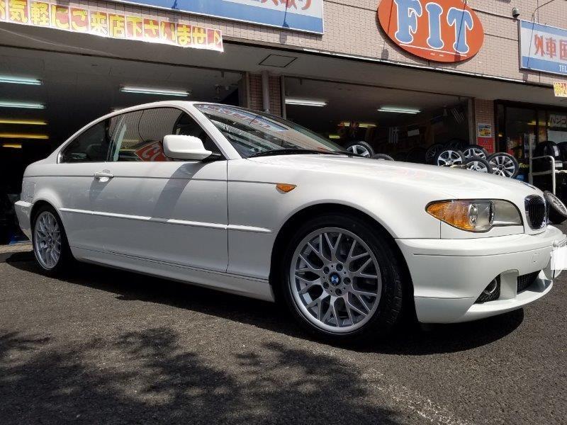 BMW:E46クーペにオプション純正のお取り付け! FIT都筑店です(*'▽')