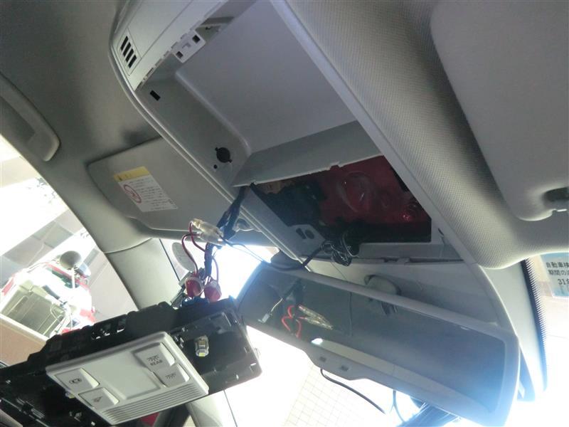 ドライブレコーダー apeman C550取り付け