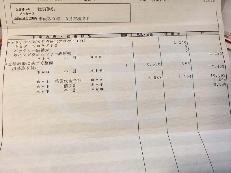 トヨタプロケア10からのトヨタG's フロントサスペンションメンバーブレース取り付け