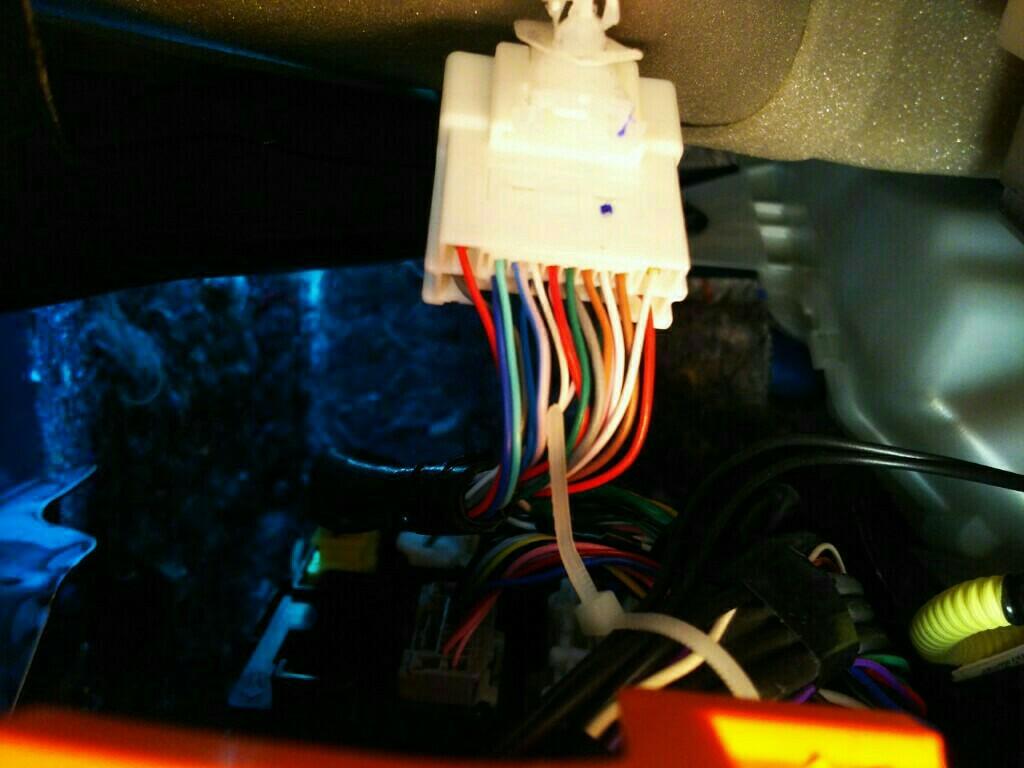 フットランプ配線加工