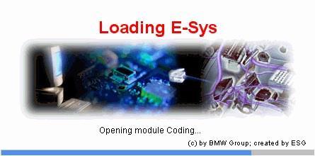 コーディング実施(DIY) その11 E-SYS動作確認も兼ねる