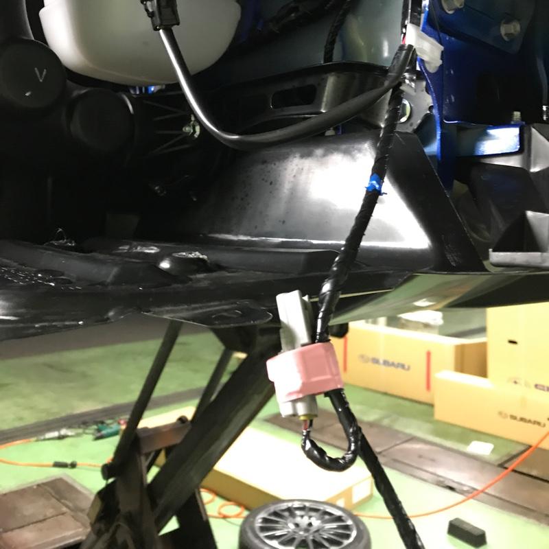 STIスポーツ 純正エンブレム発光加工