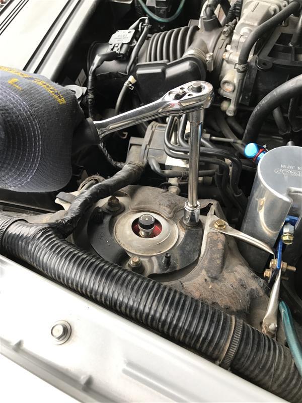 ラルグス 車高調 カートリッジ交換(フロント)