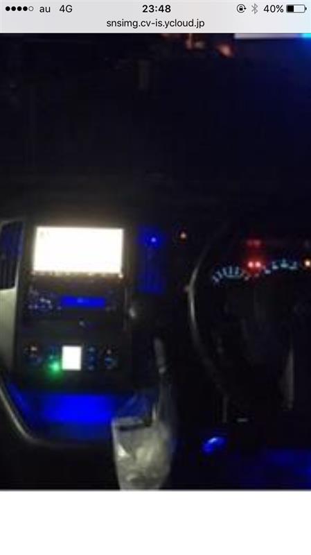 LED打ち替え色々とフットイルミ、コンソール照