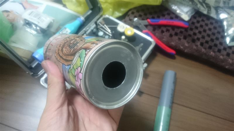ワンオフ空缶シフトノブ その1