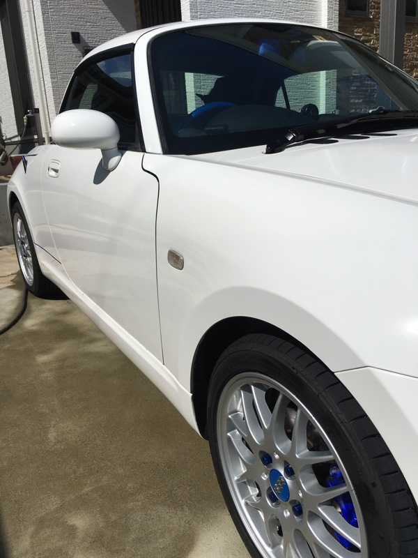 シリコン洗車