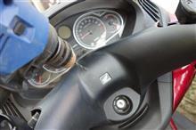 シルバーウィングGT400 ABS シルバ-ウィングにナビを付けようのカスタム手順2