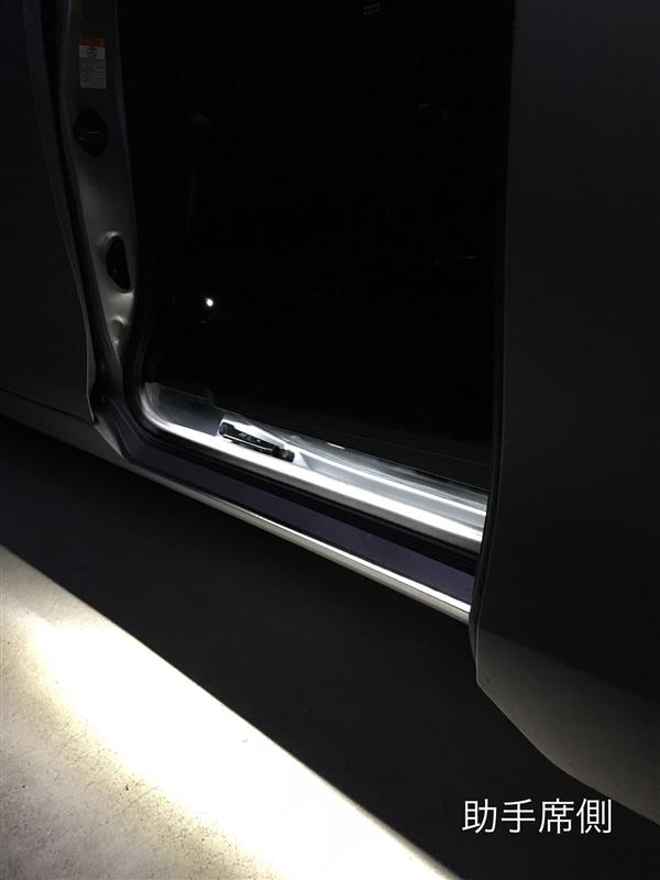 スライドドア 連動 ステップ 照明 LED
