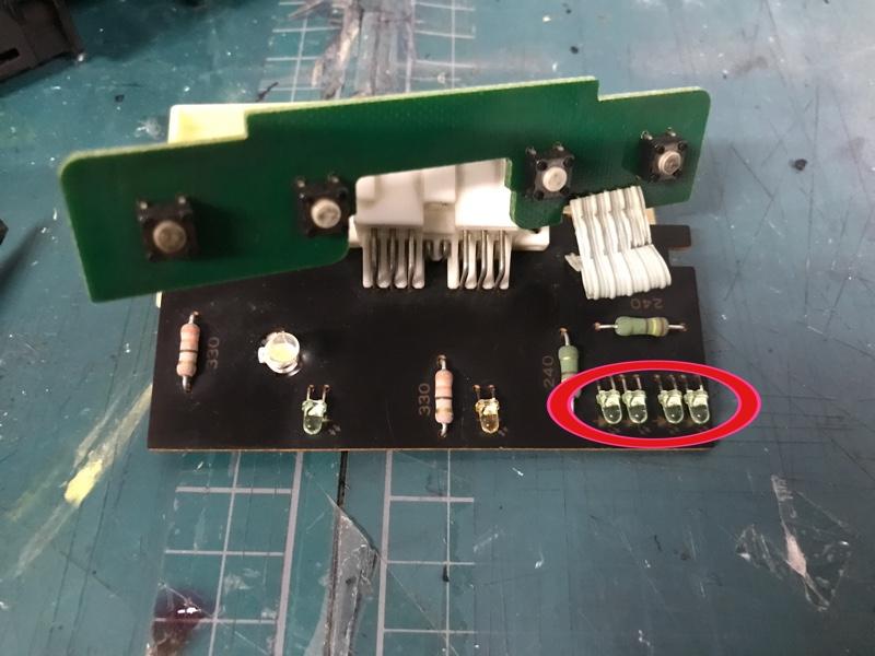 続・エアコンパネル LED化
