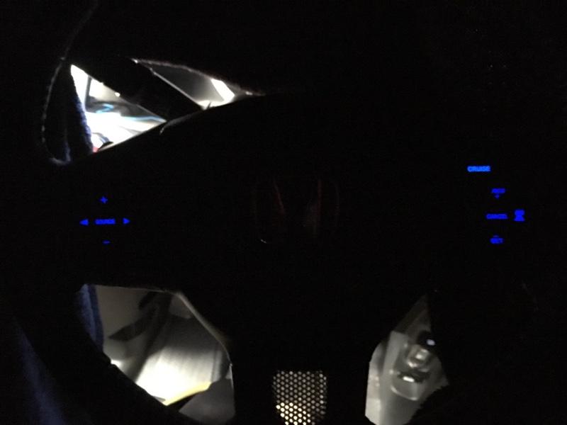 ステアリングスイッチ LED青色化 打ち替えなし 0円カスタム