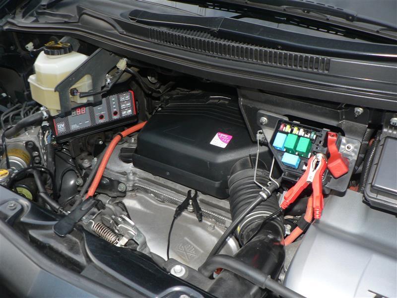 補機バッテリー充電