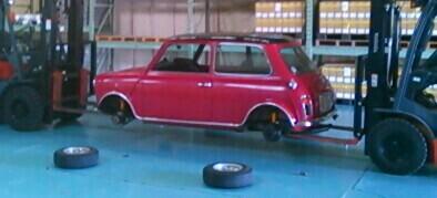 タイヤローテーションと洗車