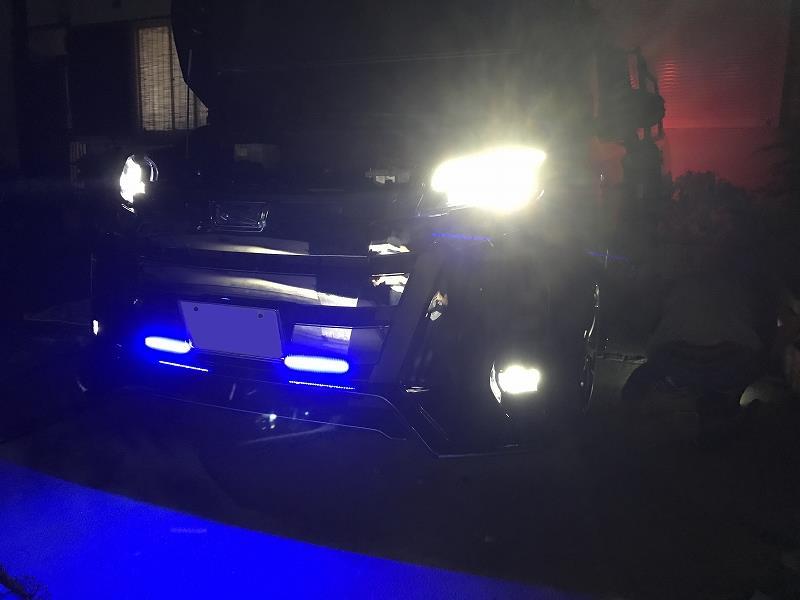 LEDフォグライト取付