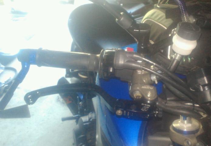 MT-09 ブレーキマスターシリンダー交換