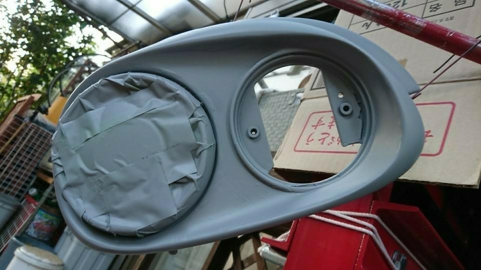 中古ヴィヴィオビストロ流用テールランプ塗装/取り替え
