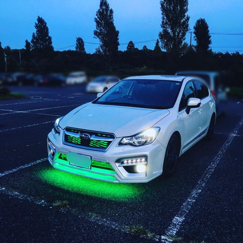 グリル内LED、フロントアンダーネオン。